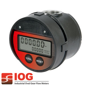 Precision oval gear meter series LM OG I HF 1""