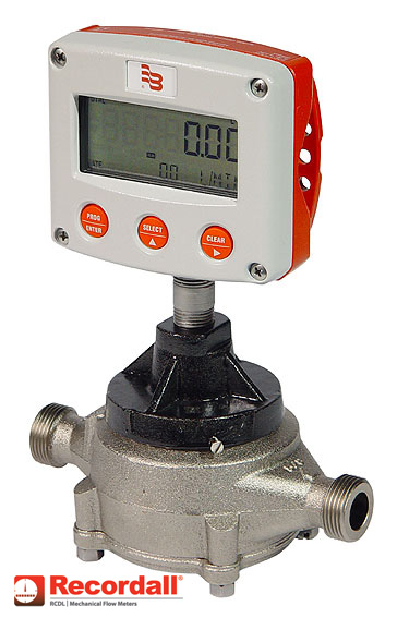 Nutating disc meter RCDL nickel coated
