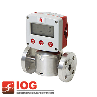 Precision oval gear meter series IOG® 3""