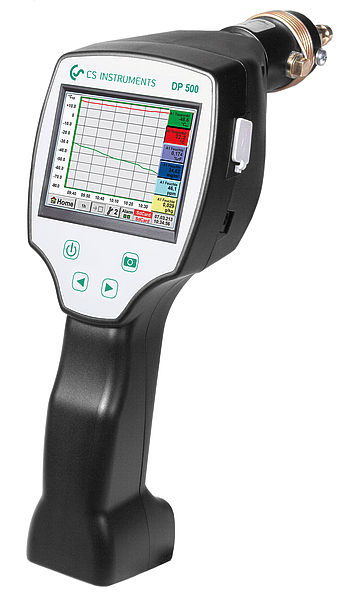 DP 500 - Portable dew point meter for compressed air and gases