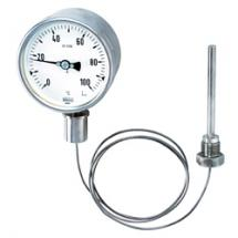 Gas expansion thermometer