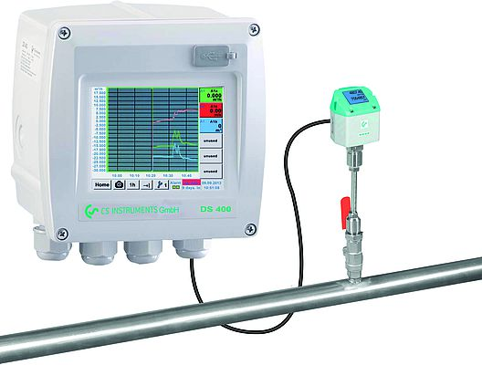 DS 400 - Flow measurement for compressed air and gases